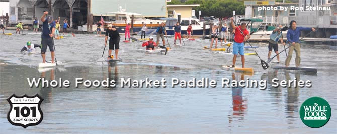 Whole Foods Market San Rafael Stand Up Paddleboarding Race Series 2013/14