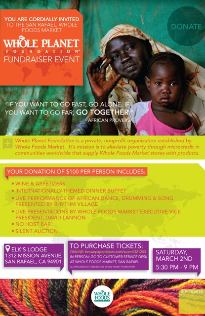 Whole Planet Foundation Fundraiser