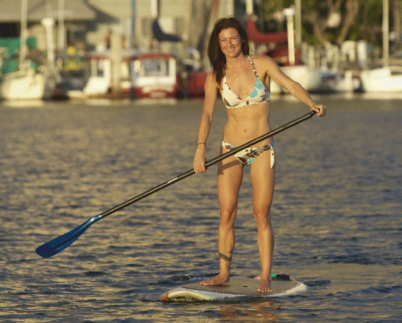 Nikki Gregg Stand Up Paddleboarding Fitness and Training