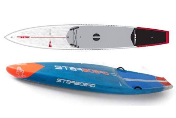 SIC Maui RS 14 aka the Rocket Ship compared to the Starboard All Star