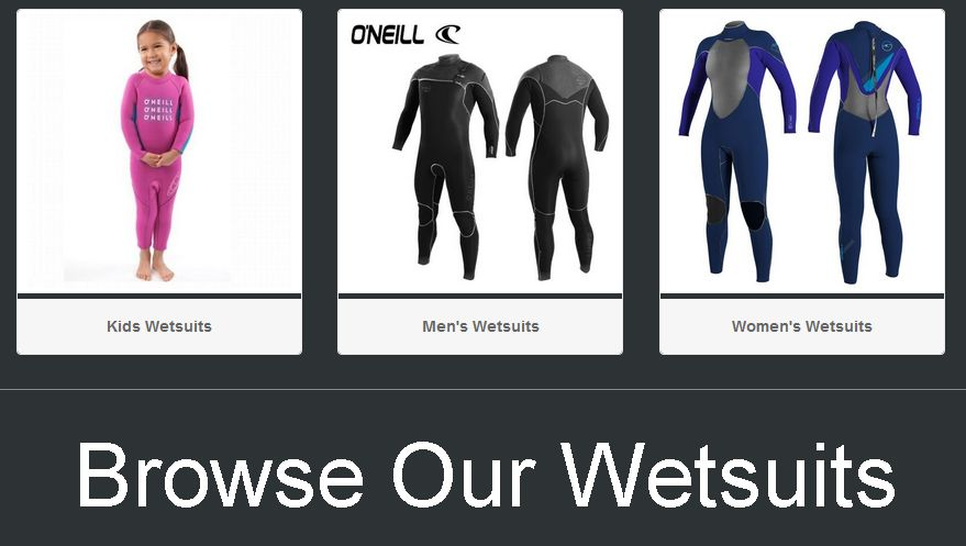 Buy O'Neill Wetsuits