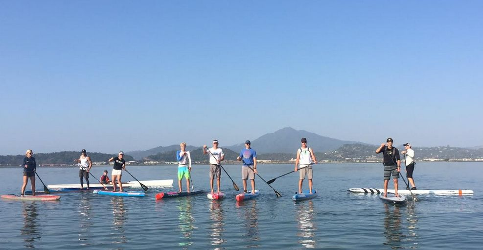 San Francisco Bay Stand Up Paddleboarding Training Group