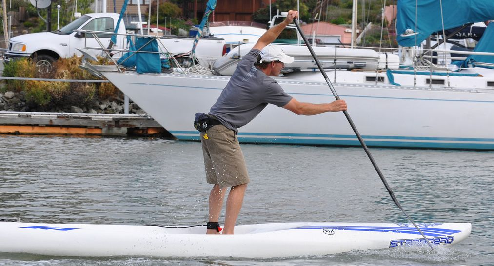 David Wells Stand Up Paddleboarding