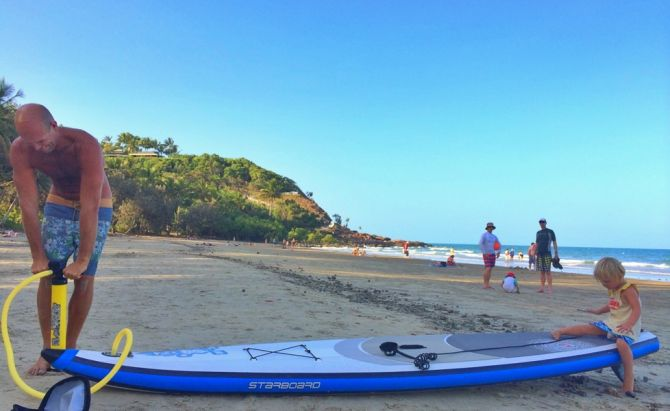 inflatable stand up paddleboard from Starboard
