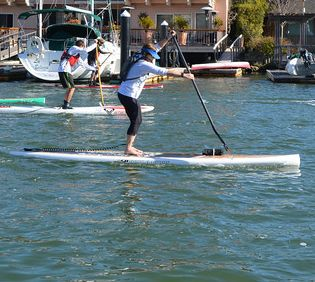 Cathy Huang in perfect SUP Form!