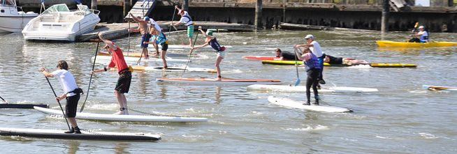 101 Surf Sports Paddleboard Racing Clinic With David Wells