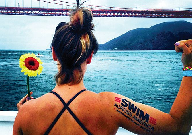 Help swim across america with your kayak or Stand up paddleboard
