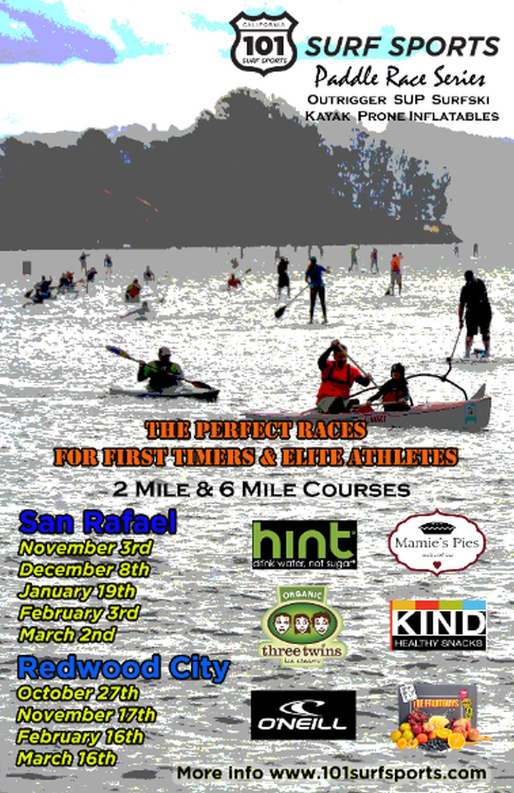 101 Surf Sports Paddle Race Series