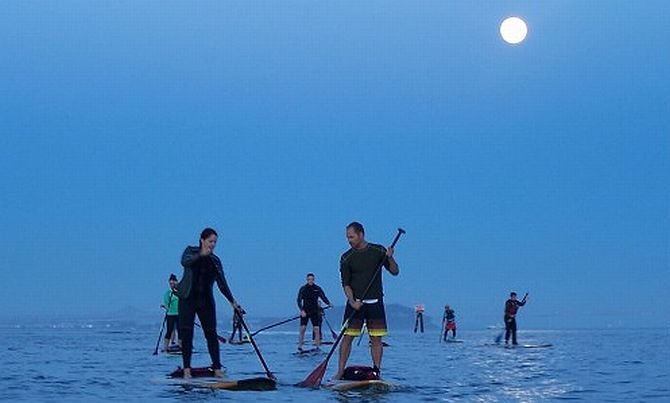 Moonlight Paddle Tour