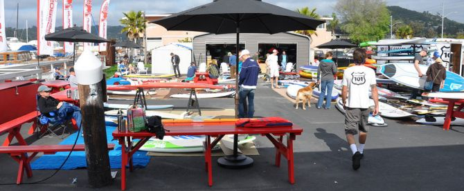 swap meet for stand up paddleboarding