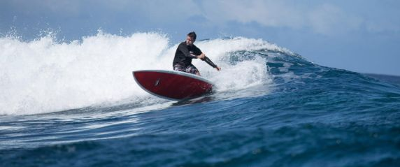 Stand Up Paddleboard Surfing