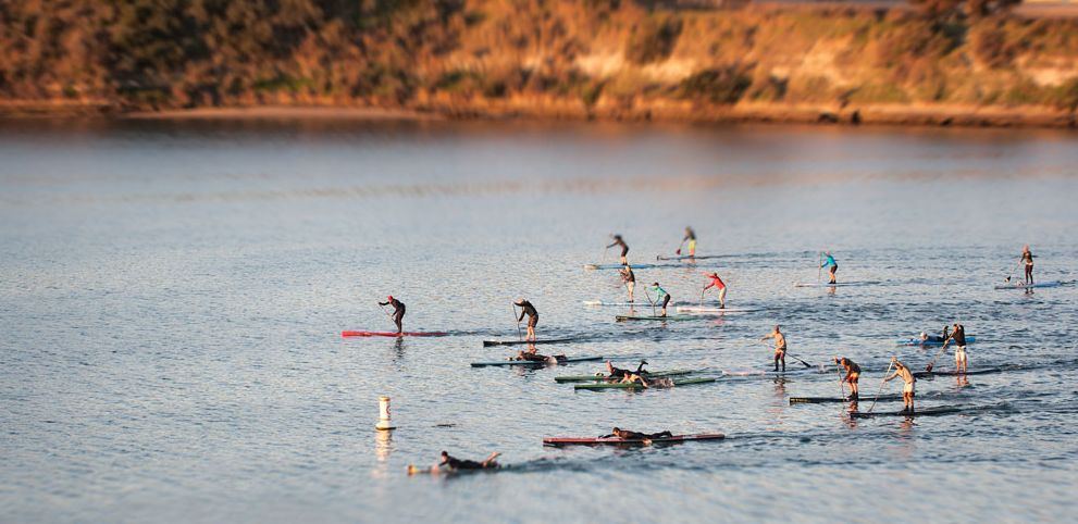 san francisco bay group paddle training