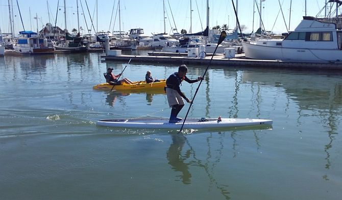 Stand Up Paddleboarding and Kayaking in Redwood City