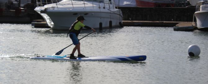 Daniel Alvarez your Junior Stand Up paddleboard winner