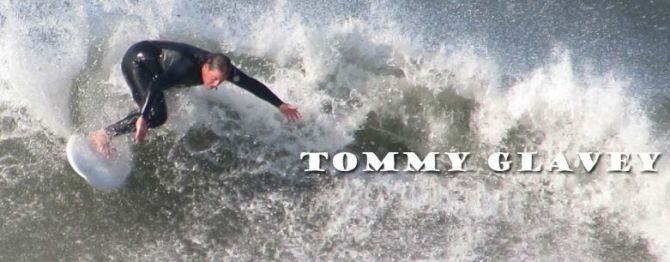 Tommy Glavey can surf and is great with kids