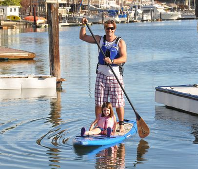 Stand Up Paddleboarding on San Francisco Bay