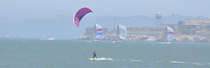 Kiteboarding Marin County