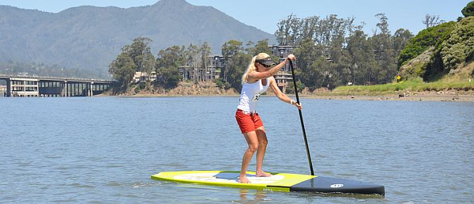 Stand Up paddleboard Rentals Marin County