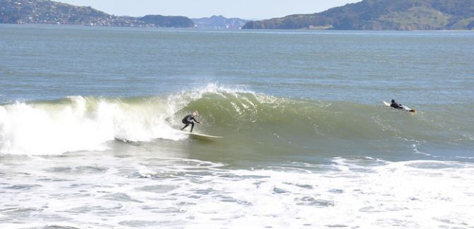 Surf Lessons for the San Francisco Bay Area